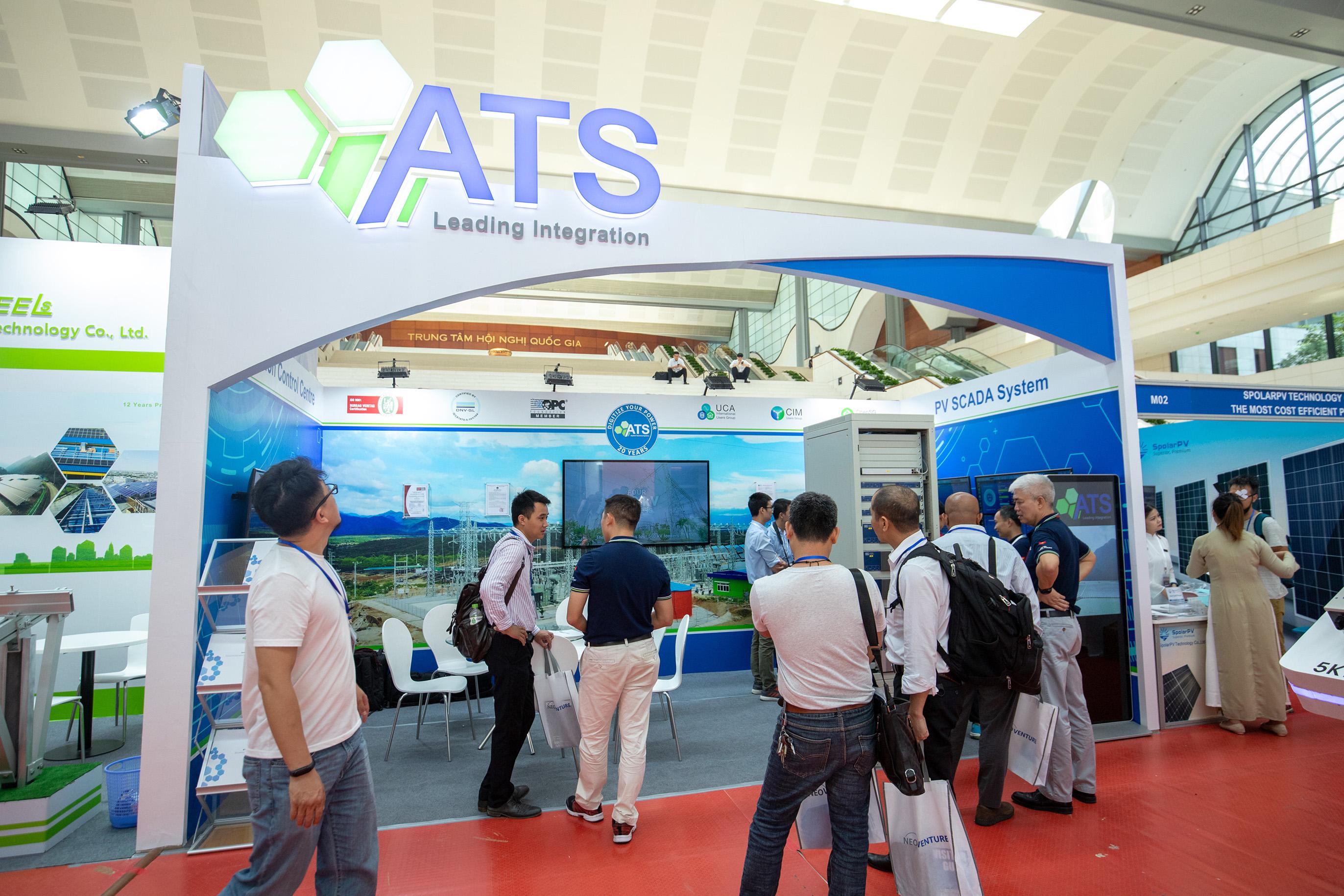 Gian hàng giới thiệu sản phẩm của ATS